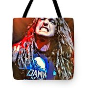 Cliff Burton Portrait Tote Bag
