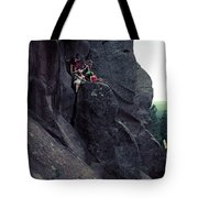 Cliff Dancers Tote Bag