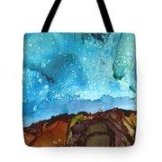 Cliff Diver Tote Bag
