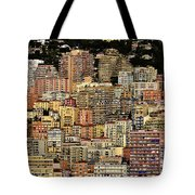 Cliff Dwellers Of Monte Carlo Tote Bag