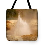 Cliff Geyser Tote Bag