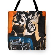 Cliff Master Bed 3 Tote Bag
