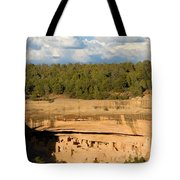 Cliff Palace Landscape Tote Bag