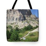 Cliff Shelf Trail In Badlands National Park South Dakota Tote Bag