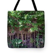 Cliff Side North Shore Kauai Hawaii Tote Bag