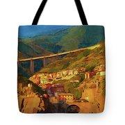 Cliff Village Tote Bag