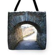 Cliff Walk Bridge Tote Bag