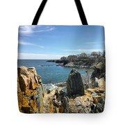 Cliff Walk View Tote Bag
