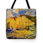 Cliffs 1883 Tote Bag