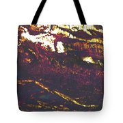 Cliffs And Clouds Tote Bag