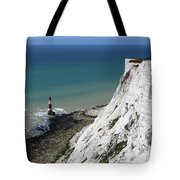 Cliffs At Beachy Head East Sussex Tote Bag