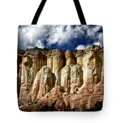 Cliffs At Echo Amphitheater Tote Bag