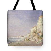 Cliffs Near Dieppe Tote Bag