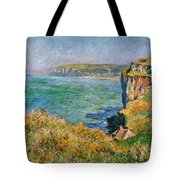 Cliffs Near Pourville Tote Bag