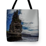 Cliffs Of Moher Stack Tote Bag