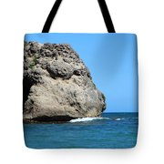 Cliffs On The Beach Dominican Republic  Tote Bag