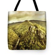 Cliffs, Steams And Valleys Tote Bag