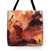 Cliffside Tote Bag