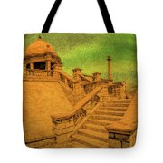 Clifton Monument At Jehangir Kothari Parade Tote Bag