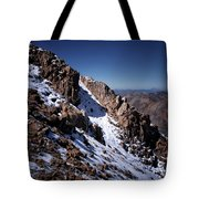 Climb That Mountain Tote Bag