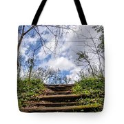 Climb To The Clouds Tote Bag