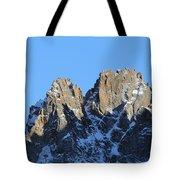 Climbers Sunlit Challenge Tote Bag