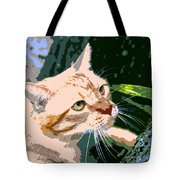 Climbing Cat Tote Bag