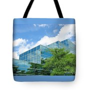 Climbing Skyward Tote Bag