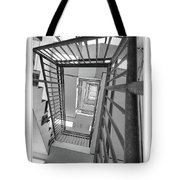 Climbing Stairs Tote Bag