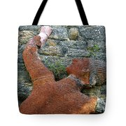 Climbing To Tomoka Tote Bag