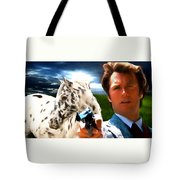 Clint Eastwood As Dirty Harry Tote Bag