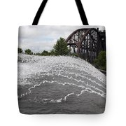 Clinton Museum Fountain Tote Bag
