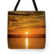 Clinton Sunset 1 Tote Bag