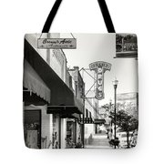 Clinton Tennessee Sepia Tote Bag