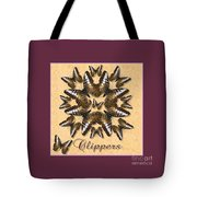 Clipper Butterfly Pin Wheel Tote Bag
