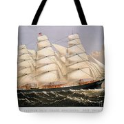 Clipper Ship, 1875 Tote Bag
