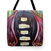 Cloak Of Reason Tote Bag