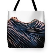 Cloaked Swirls Copper And Blues Abstract Tunic 2 8282017  Tote Bag
