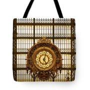 Clock Dorsay Museum Tote Bag