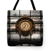 Clock Musee D'orsay Tote Bag