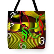 Clock Of Politics 2010 Tote Bag