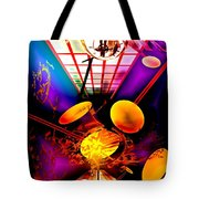 Clock-sync Tote Bag