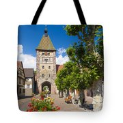 Half-timbered Houses, Alsace, France  Tote Bag