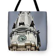 Clock Tower City Hall - Philadelphia Tote Bag