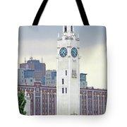 Clock Tower Montreal 2 Tote Bag
