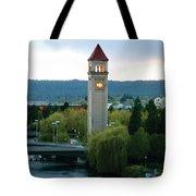 Clock Tower Tote Bag