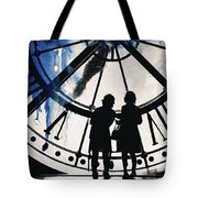 Clock Watching Tote Bag