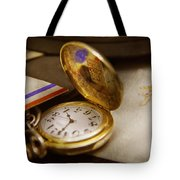 Clockmaker - Time Never Waits  Tote Bag