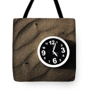 Clocks And Ripples Tote Bag