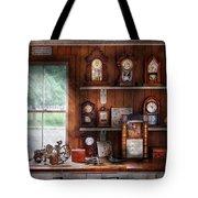 Clocksmith - In The Clock Repair Shop Tote Bag